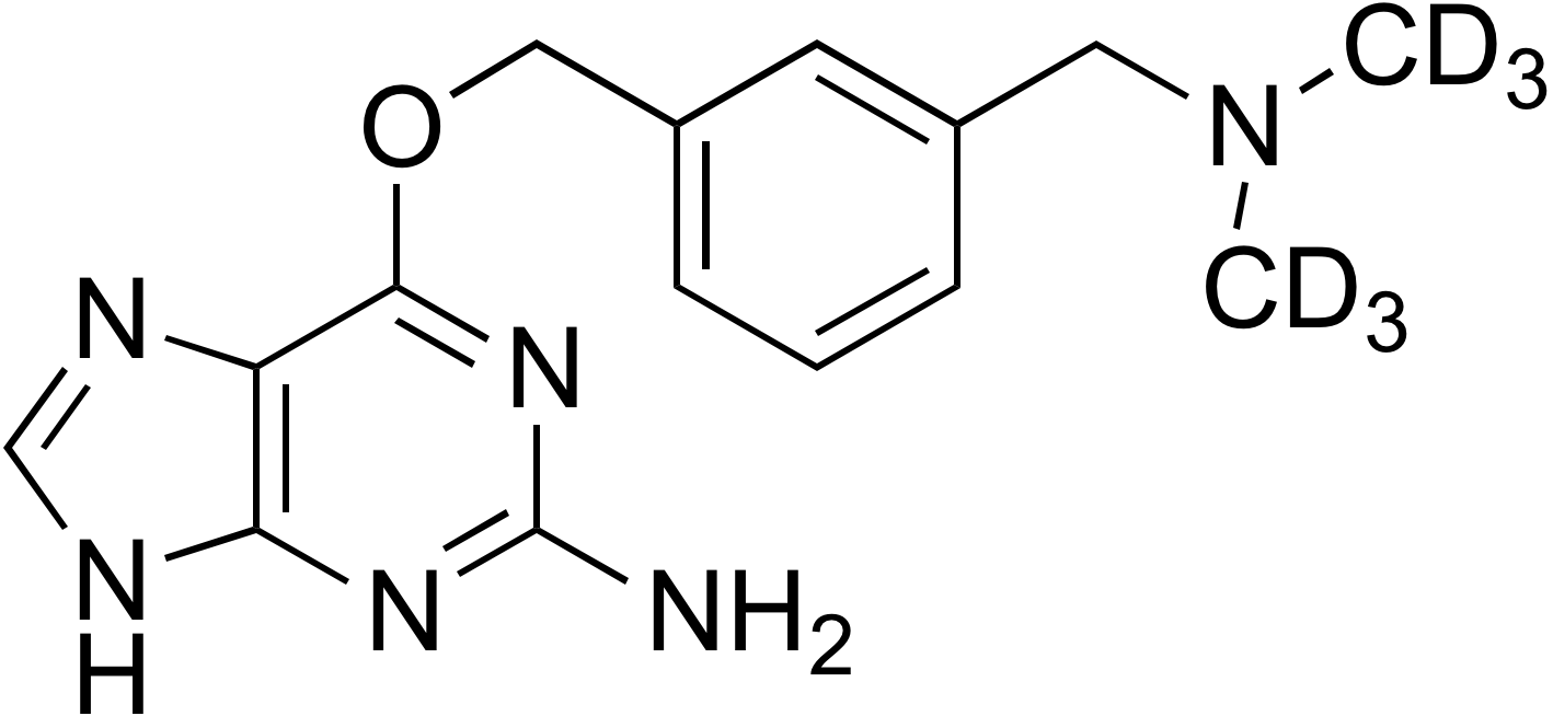 O6-[3-((Dimethylamino-d<sub>6</sub>)methyl)benzyl]guanine
