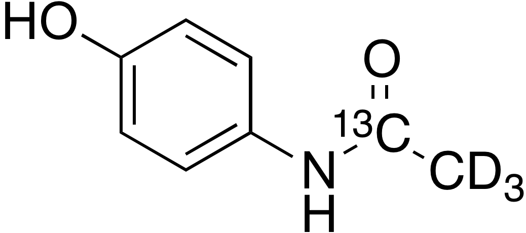 Acetaminophen-<sup>13</sup>C, d<sub>3</sub>