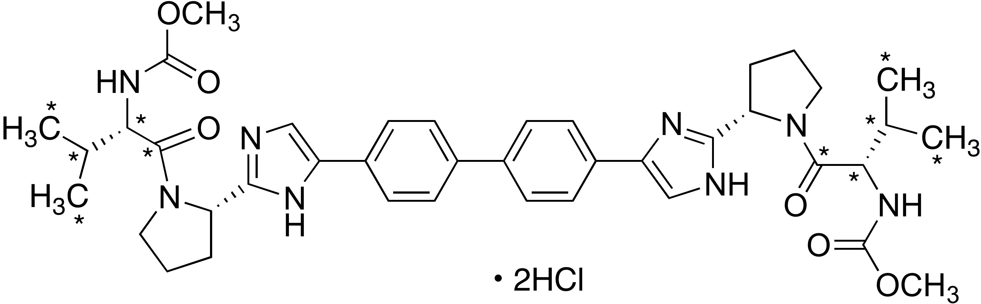 Daclatasvir-<sup>13</sup>C<sub>10 </sub> dihydrochloride