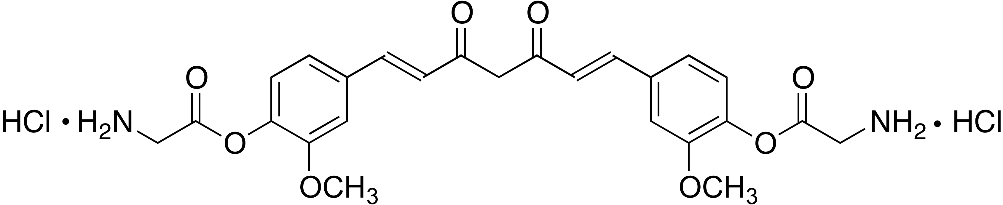 Di-O-glycinoylcurcumin dihydrochloride