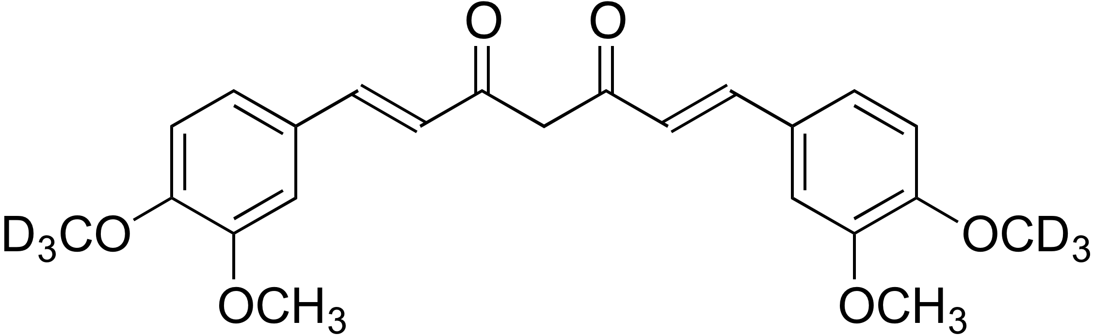 Dimethoxycurcumin-d<sub>6</sub>