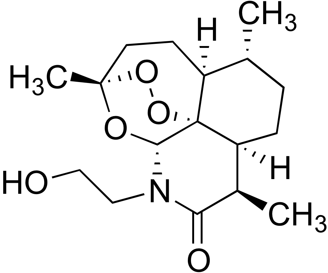 N-(2-Hydroxyethyl)-11-azaartemisinin