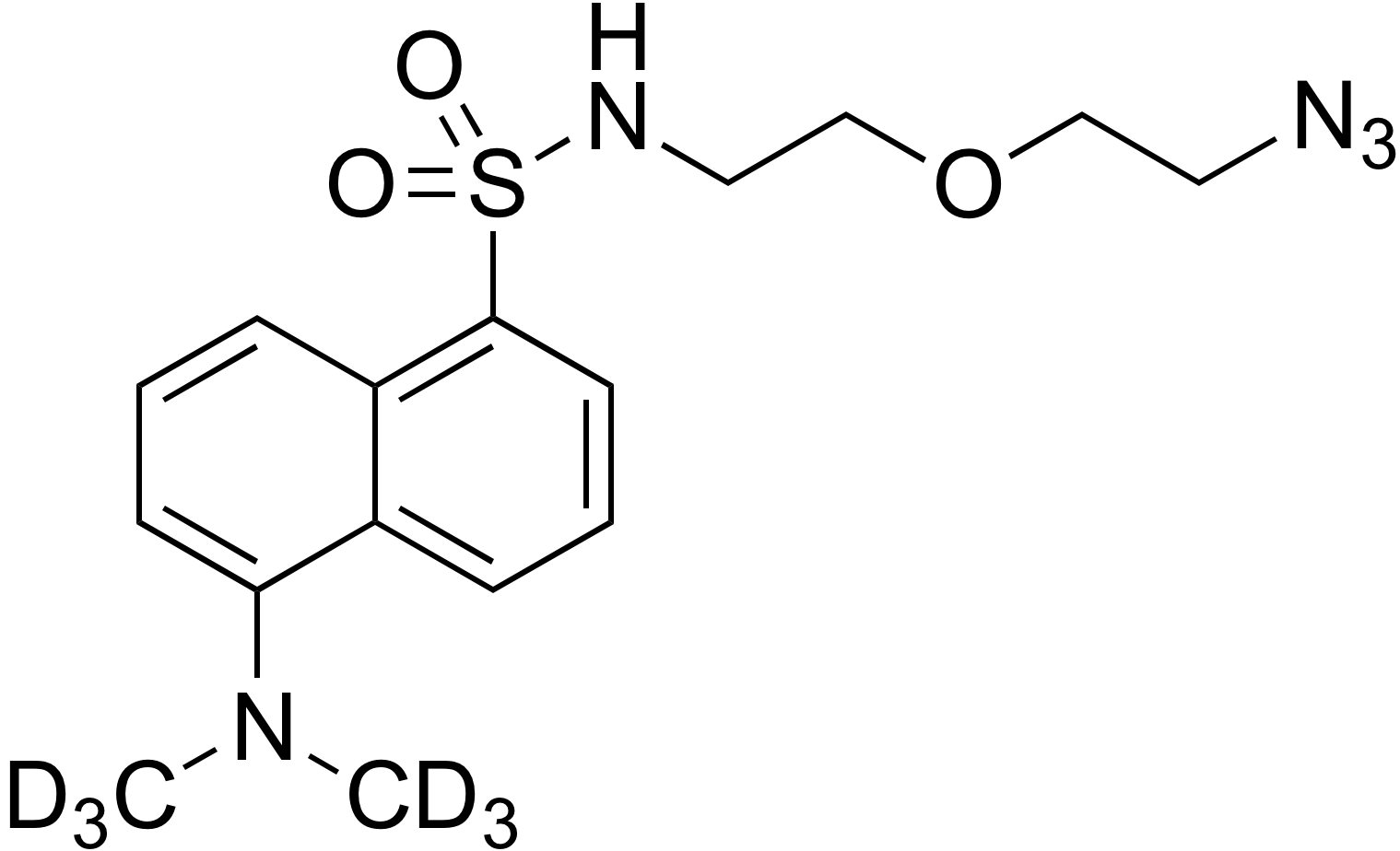 Dansyl-d<sub>6</sub> 2-(2-azidoethoxy)ethanamine
