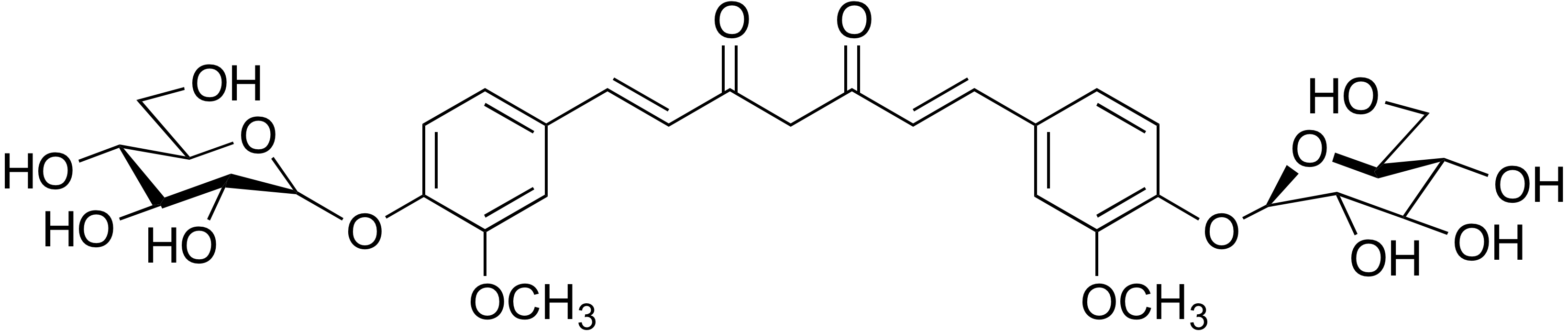 Curcumin diglucoside