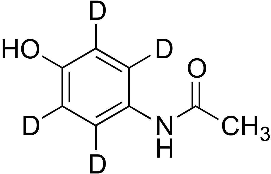 Acetaminophen-(ring-d<sub>4</sub>)