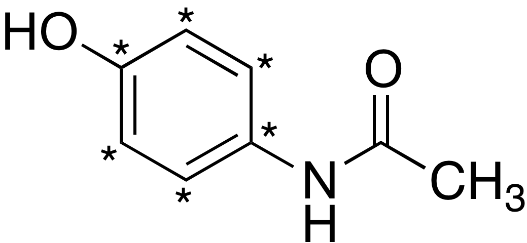 Acetaminophen-<sup>13</sup>C<sub>6</sub>