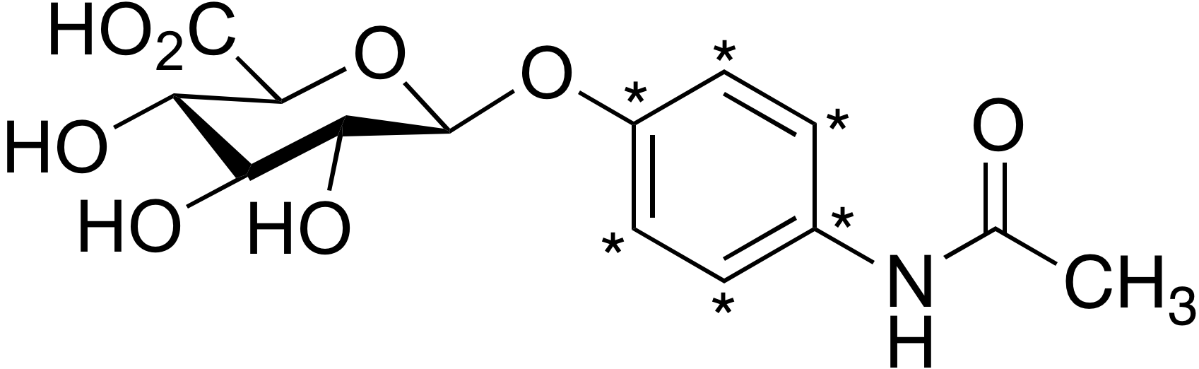 Acetaminophen-<sup>13</sup>C<sub>6</sub> β-D-glucuronide