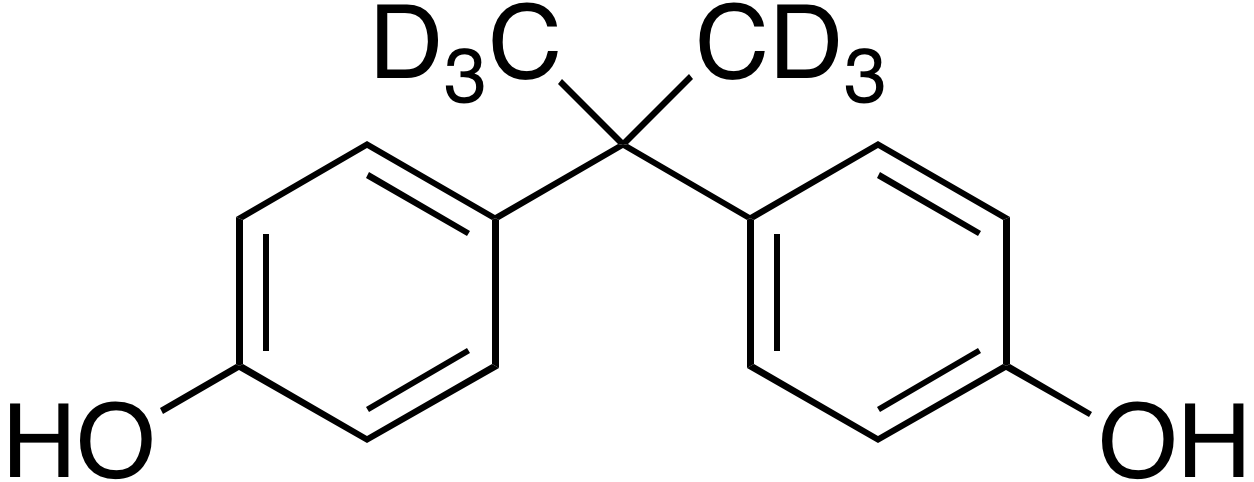 Bisphenol A (dimethyl-d<sub>6</sub>)