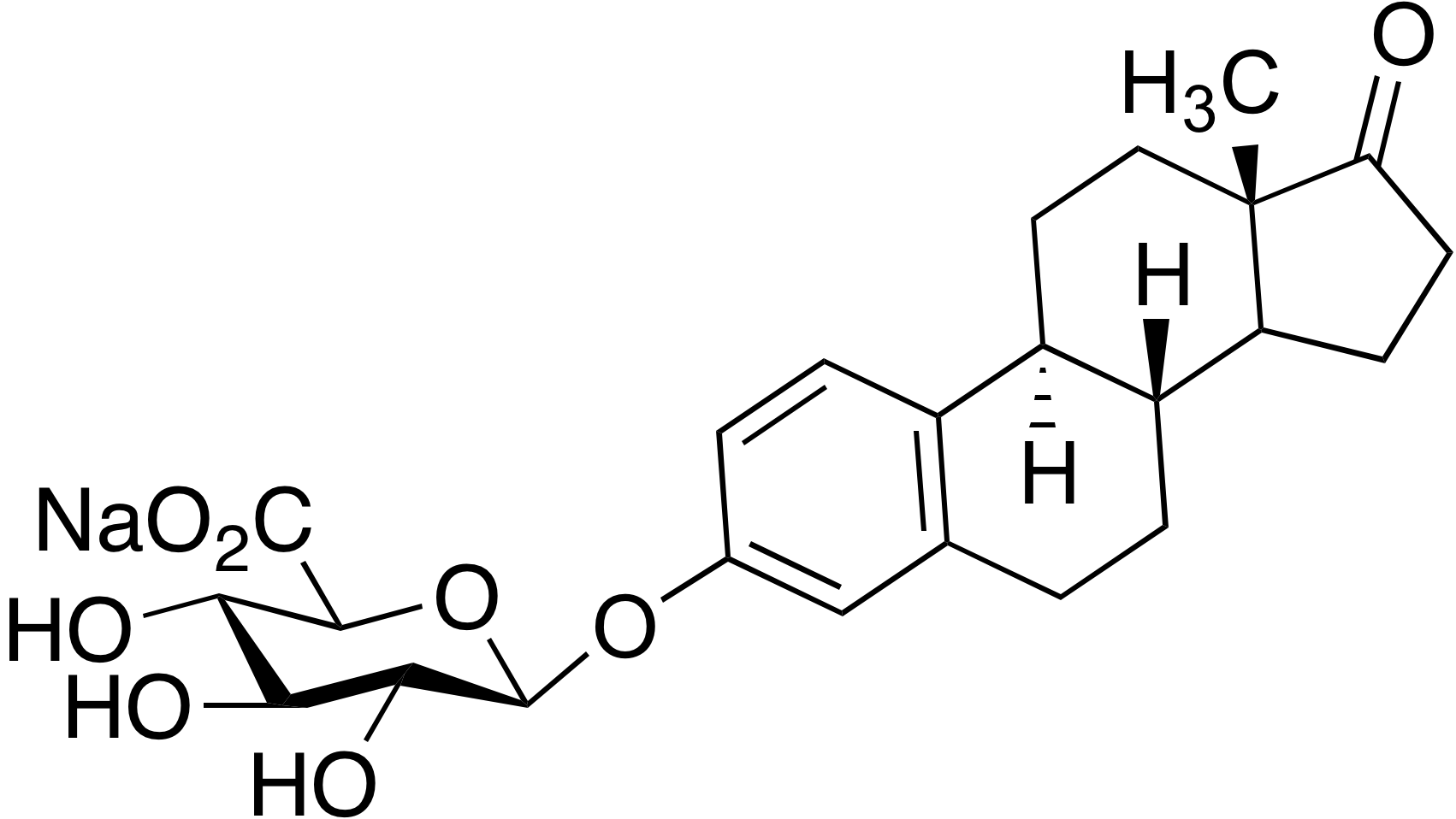 Estrone 3-(β-D-glucuronide)sodium salt