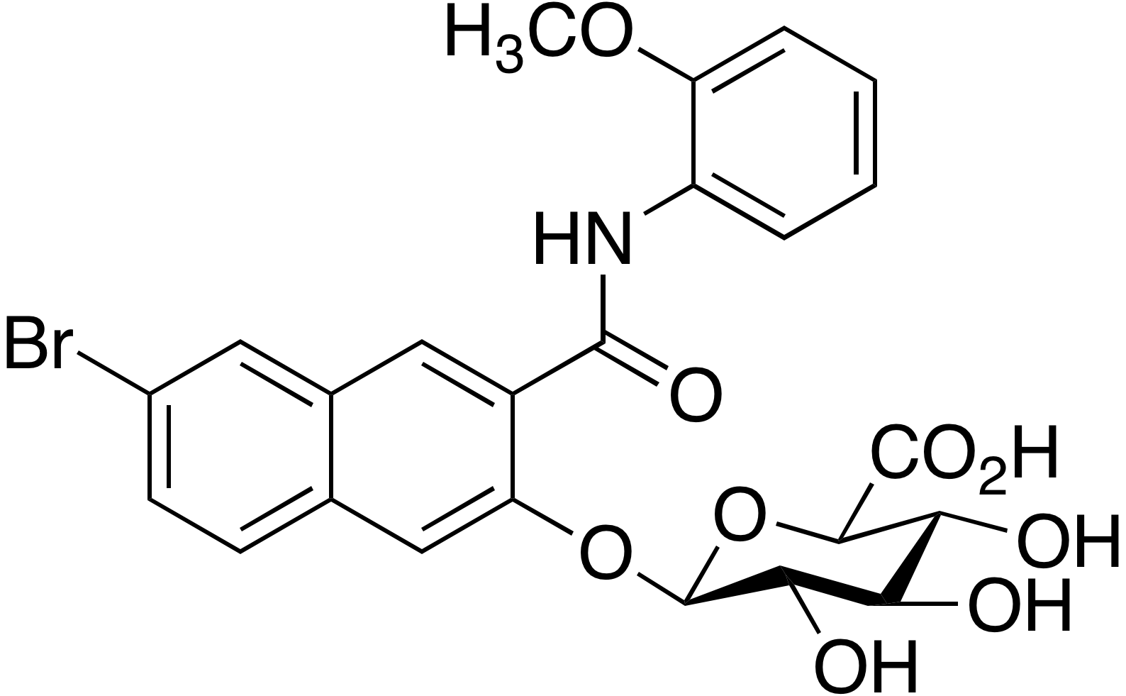Naphthol AS-BI β-D-glucuronide