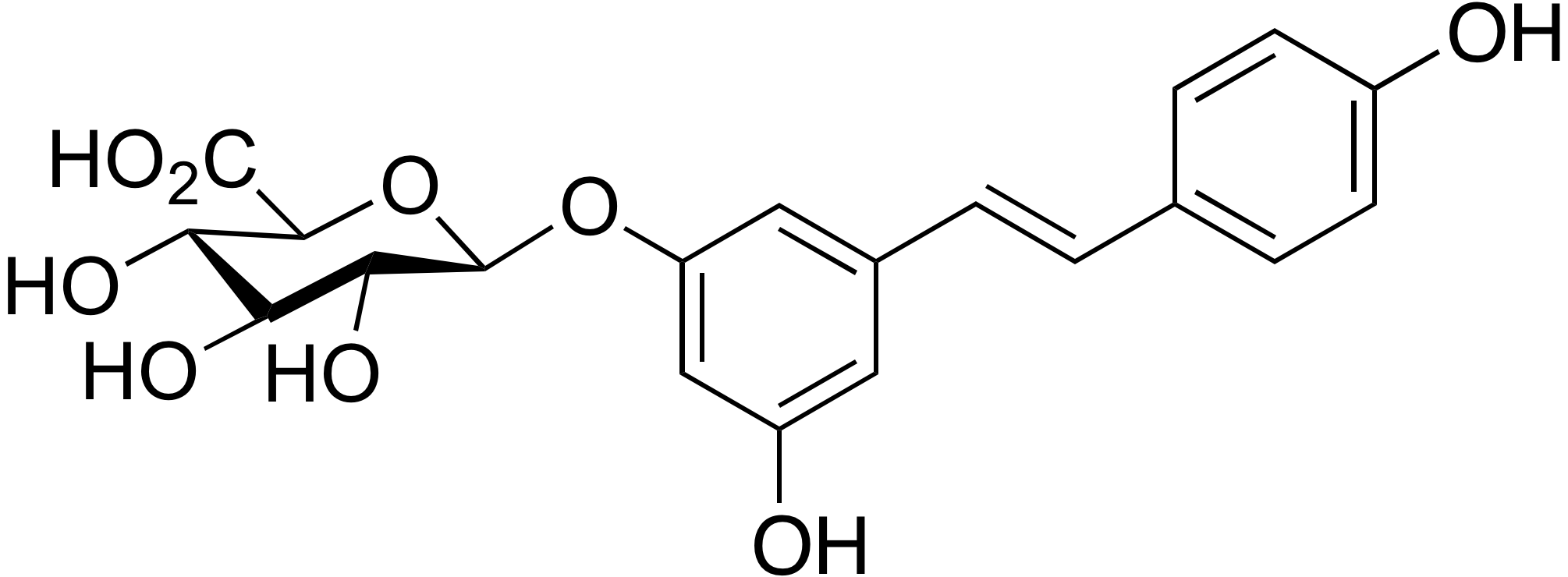 trans-Resveratrol 3-β-D-glucuronide